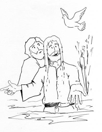 Dabar dibujos Bautismo