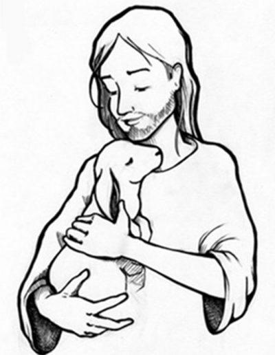 Dabar dibujos 4º Pascua