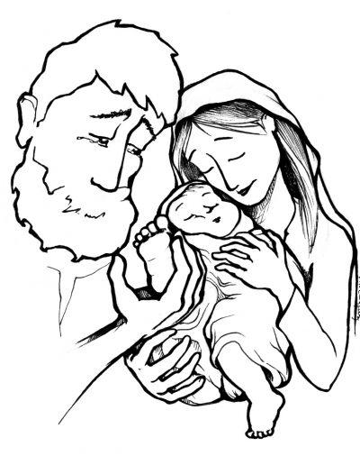 Dabar dibujos Natividad