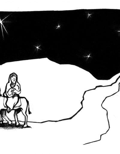 Dabar dibujos Sagrada Familia