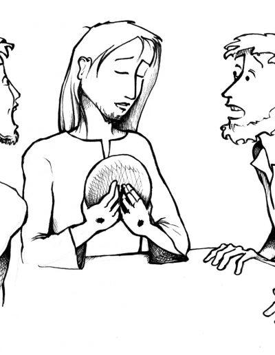 Dabar dibujos 3º Pascua