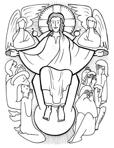 Dabar dibujos Cristo Rey