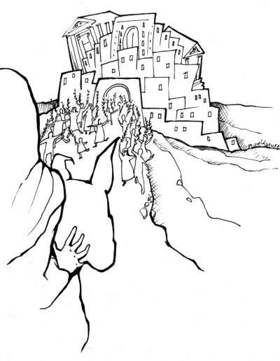 Dabar dibujos Domingo de Ramos
