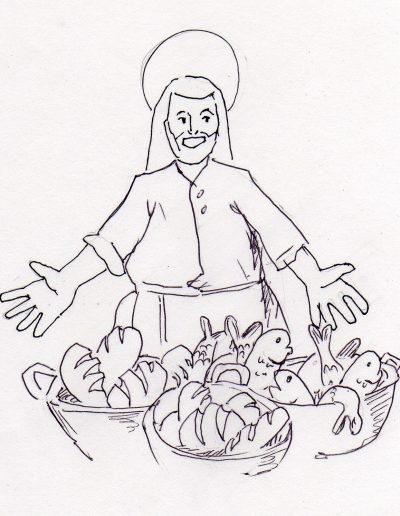 Dabar dibujos 17º Ordinario