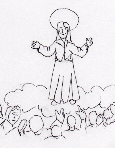 Dabar dibujos 33º Ordinario