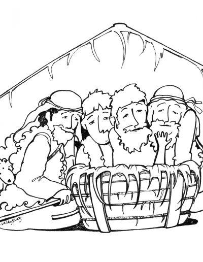 Dabar dibujos Santa Maria