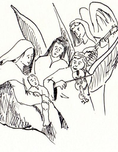 Dibujos Dabar Navidad