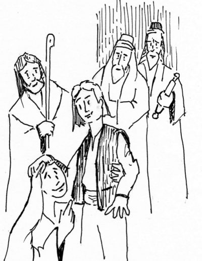 Dibujos Dabar Sagrada Familia
