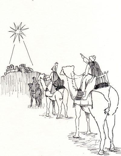 Dibujos Dabar Epifanía