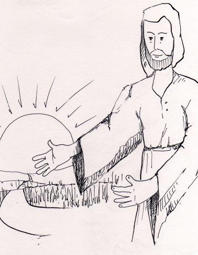 Dibujos Dabar 13º ordinario