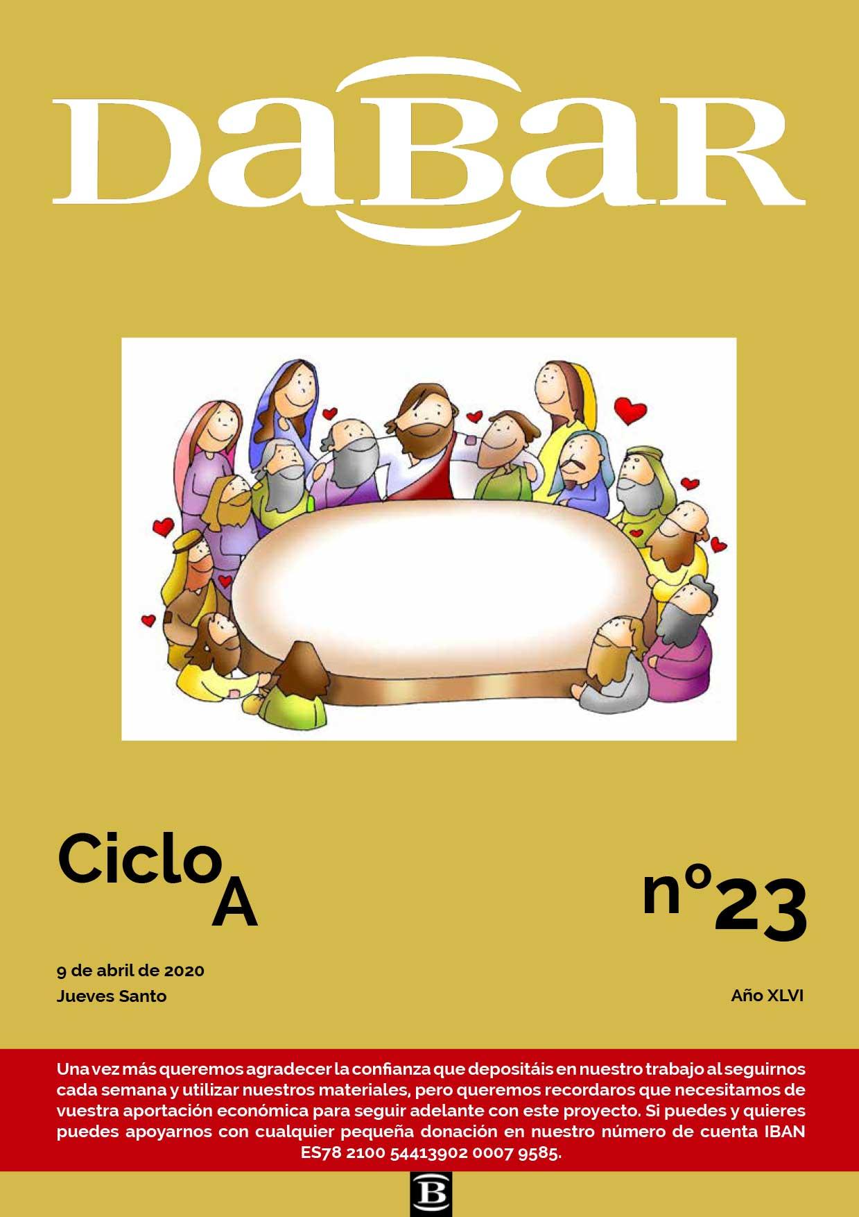 Dabar Revista numero 23 ciclo A