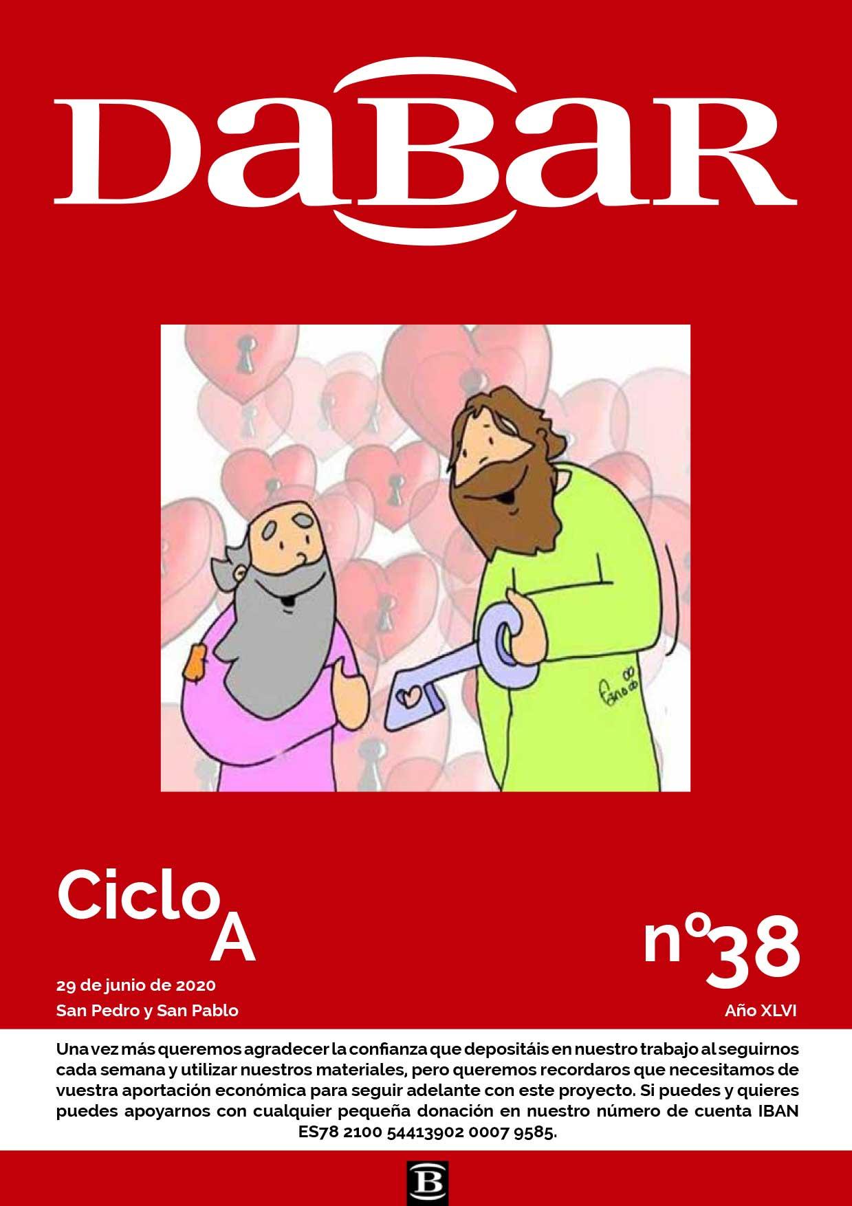 Dabar Revista numero 38 ciclo A