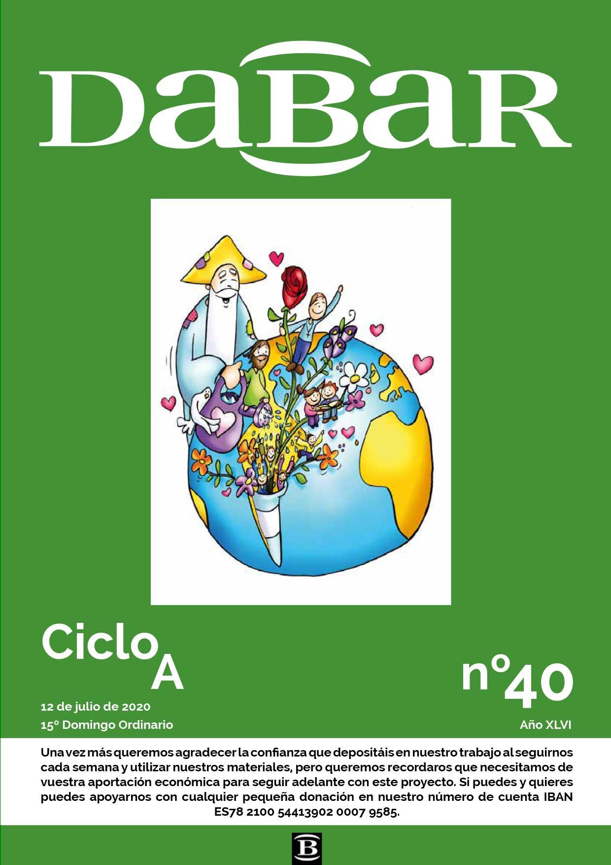 Dabar Revista numero 40 ciclo A