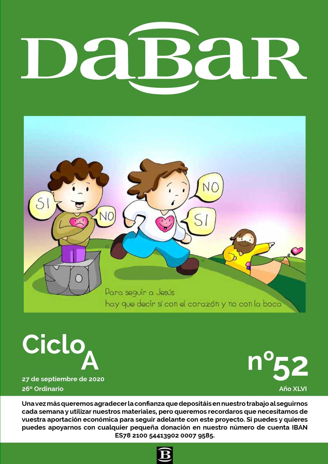 Dabar Revista numero 52 ciclo A