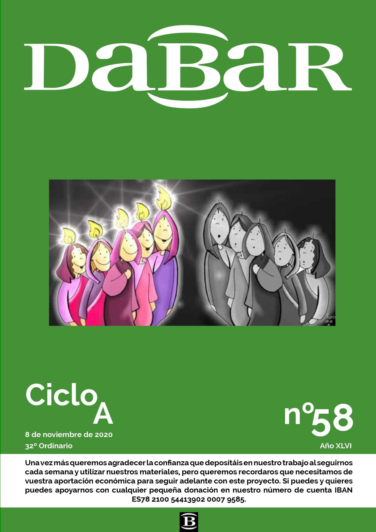 Dabar Revista numero 58 ciclo A