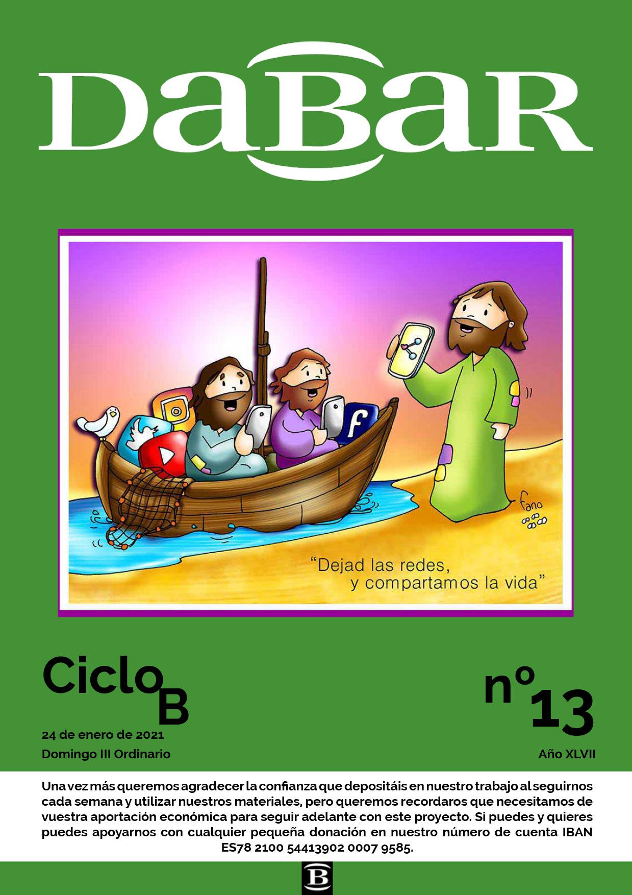 Dabar Revista numero 13 ciclo B