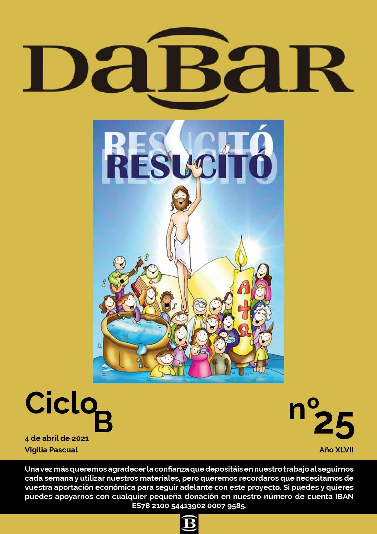Dabar Revista numero 25 ciclo B