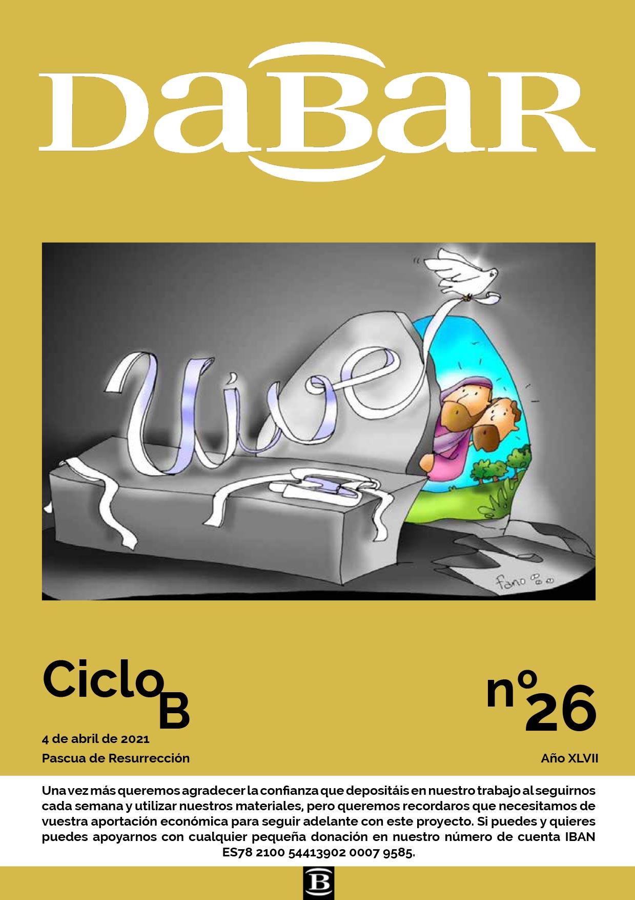 Dabar revista 26 ciclo B