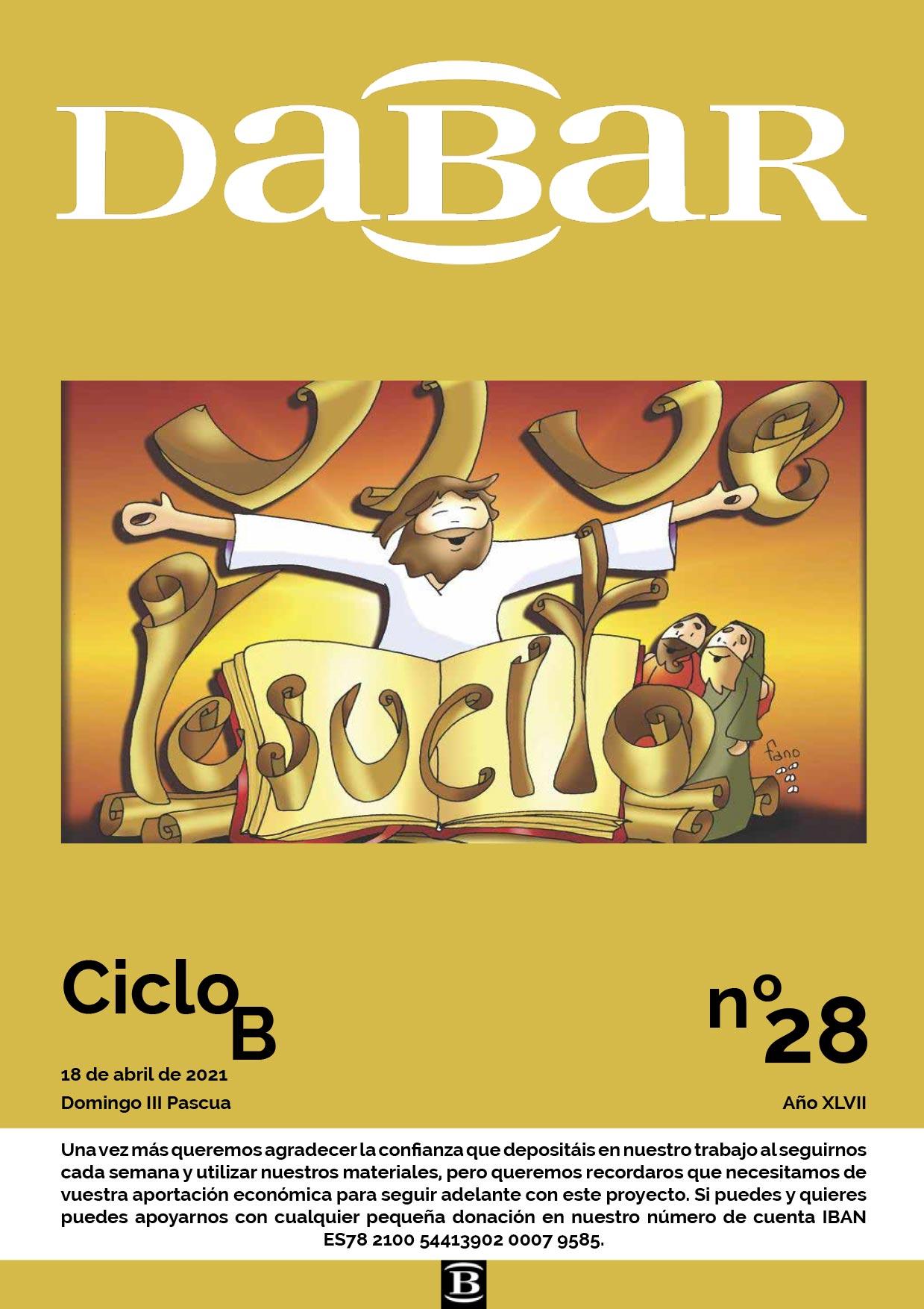 Dabar Revista numero 28 ciclo B