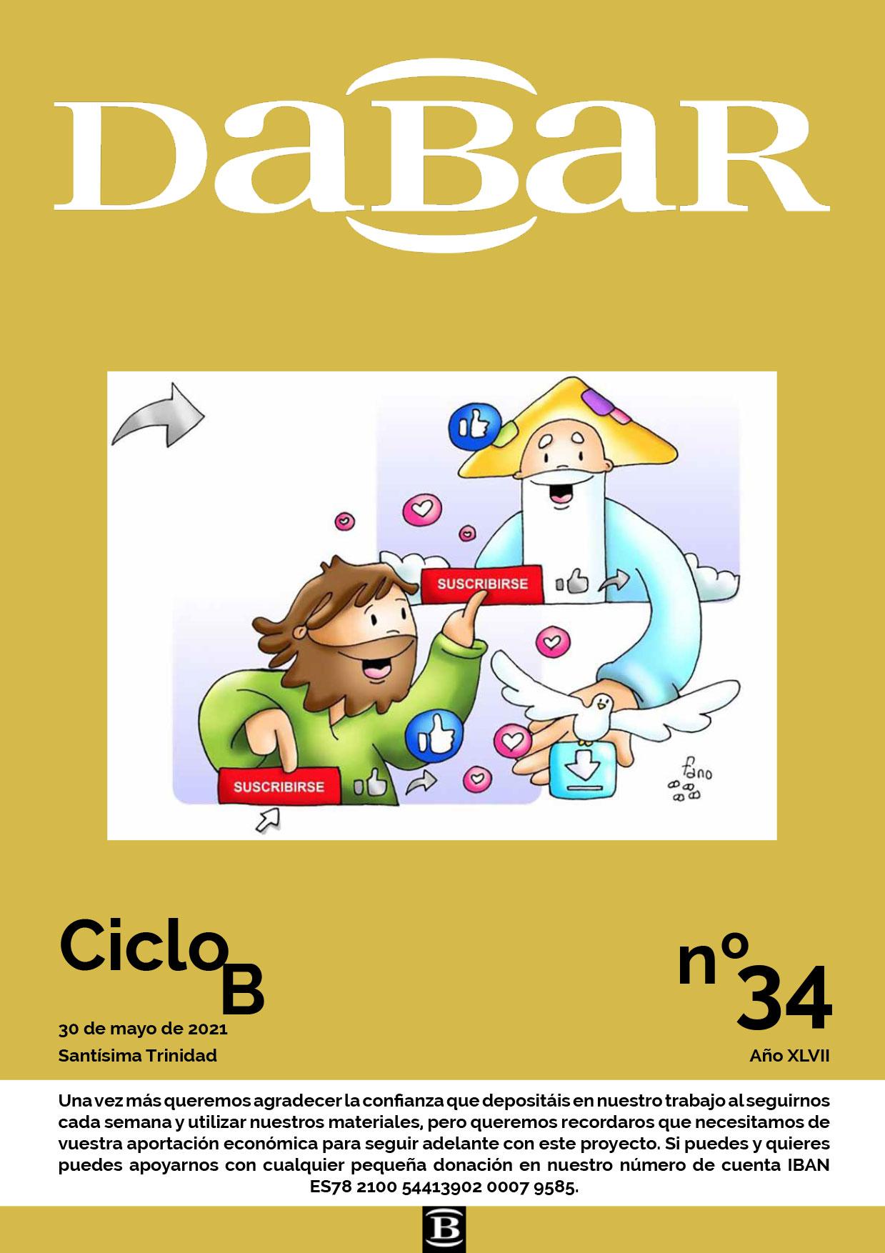 Dabar Revista número 34 ciclo B