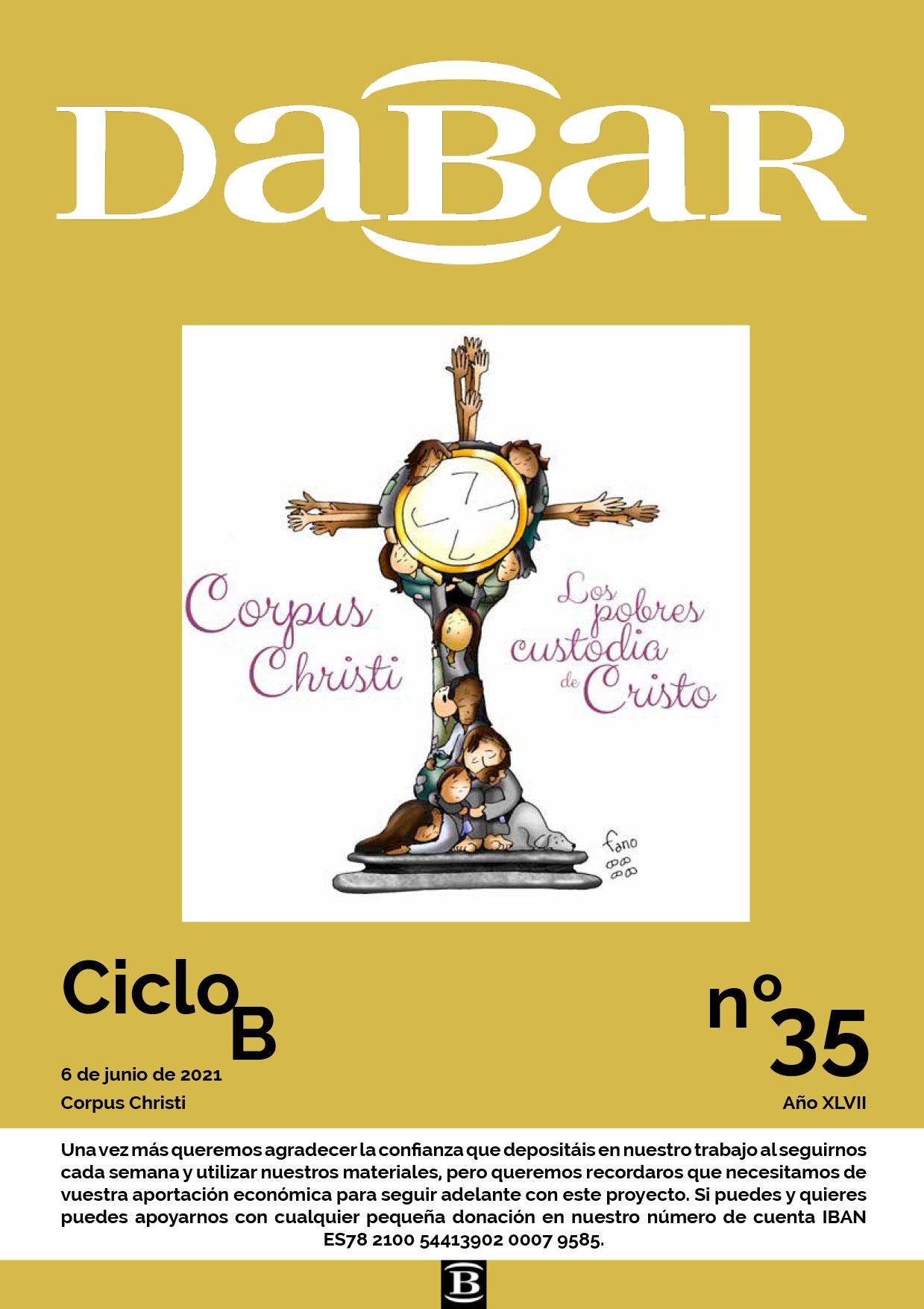 Dabar Revista numero 35 ciclo B