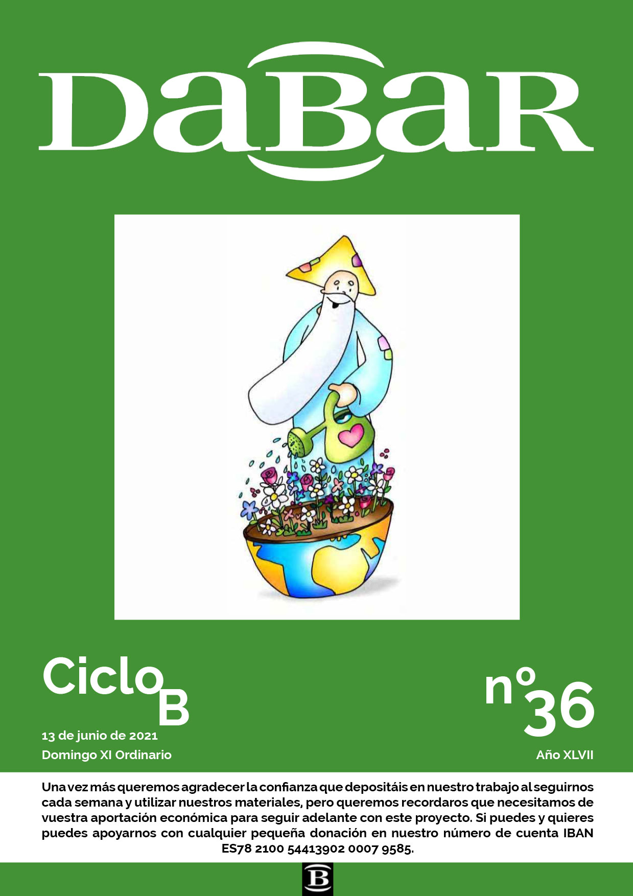 Dabar Revista numero 36 ciclo B