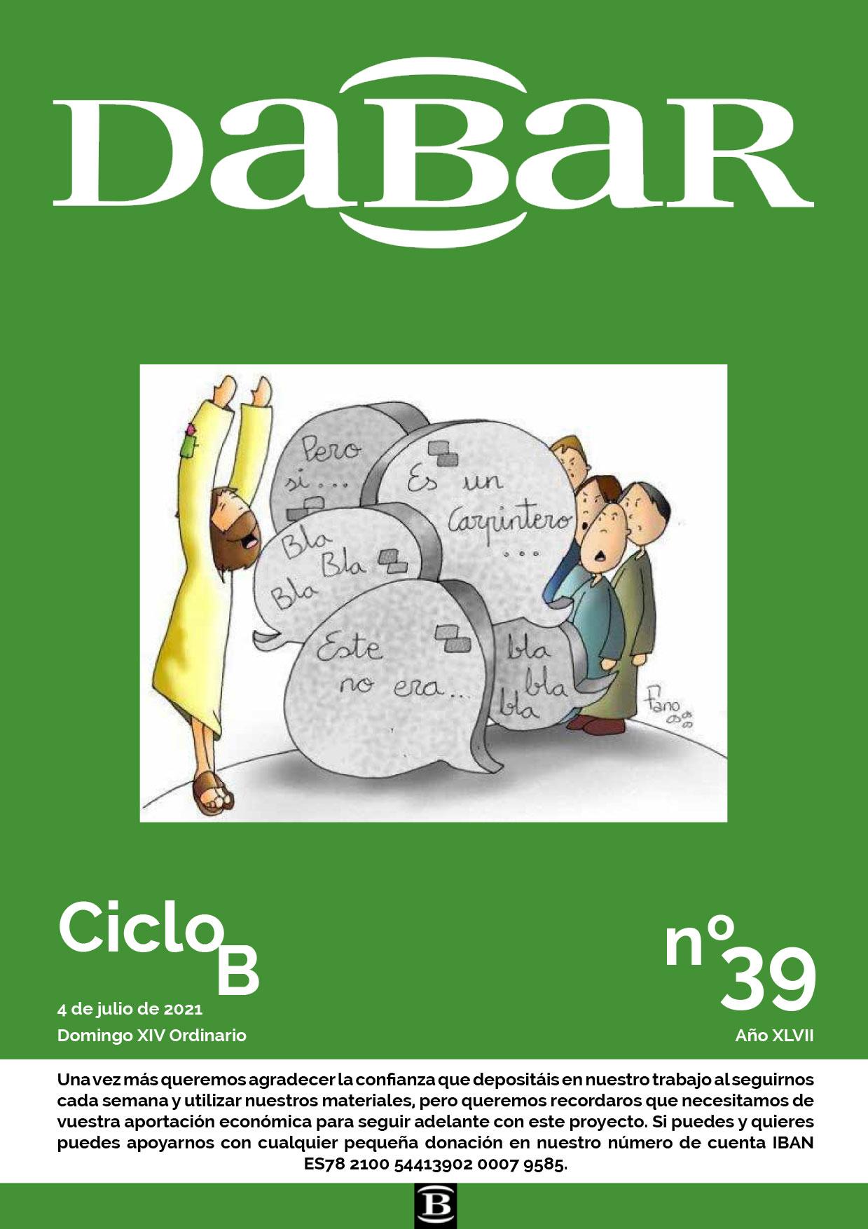Dabar Revista numero 39 ciclo B