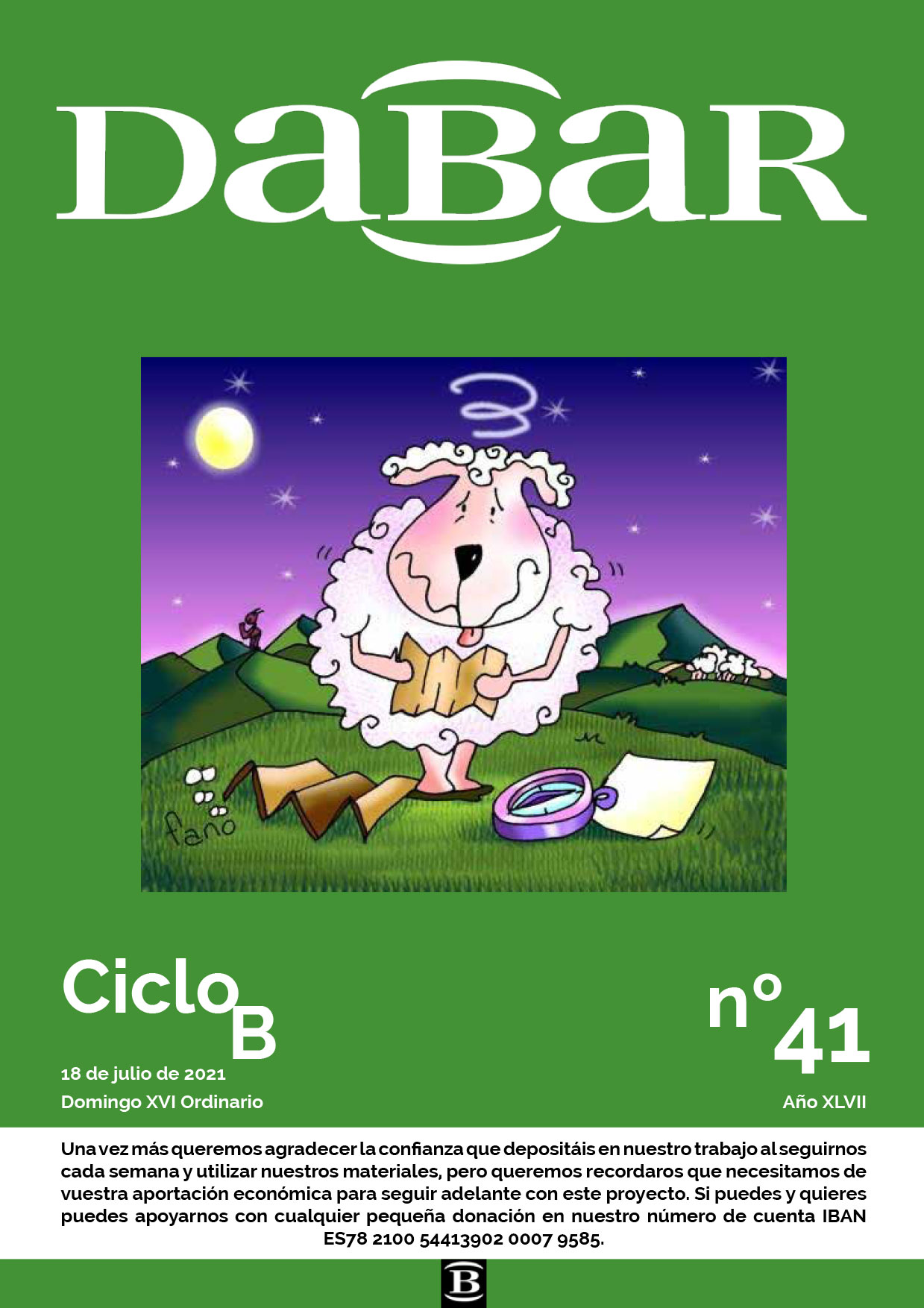 Dabar revista 41 ciclo B