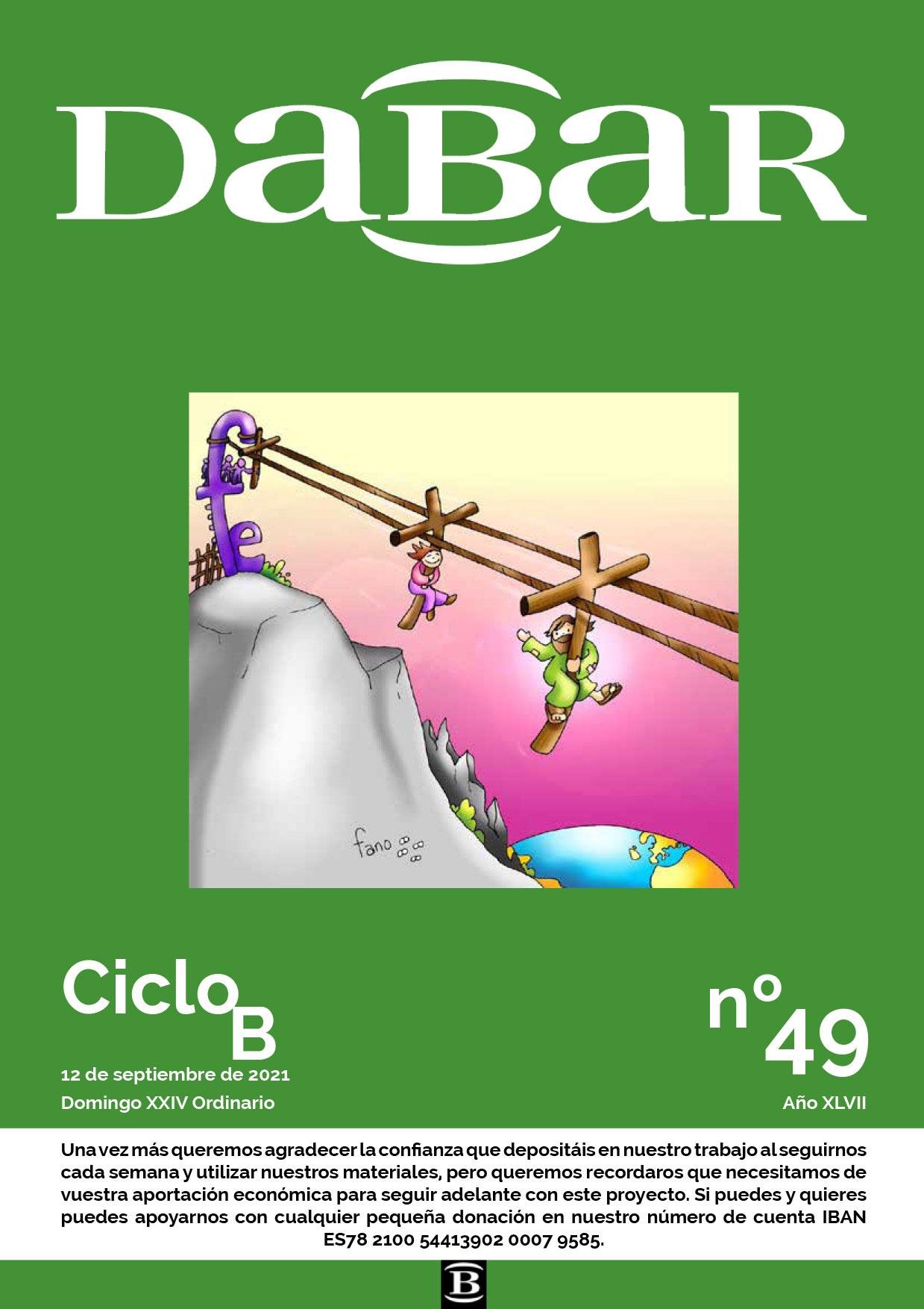 Dabar Revista número 49 ciclo B
