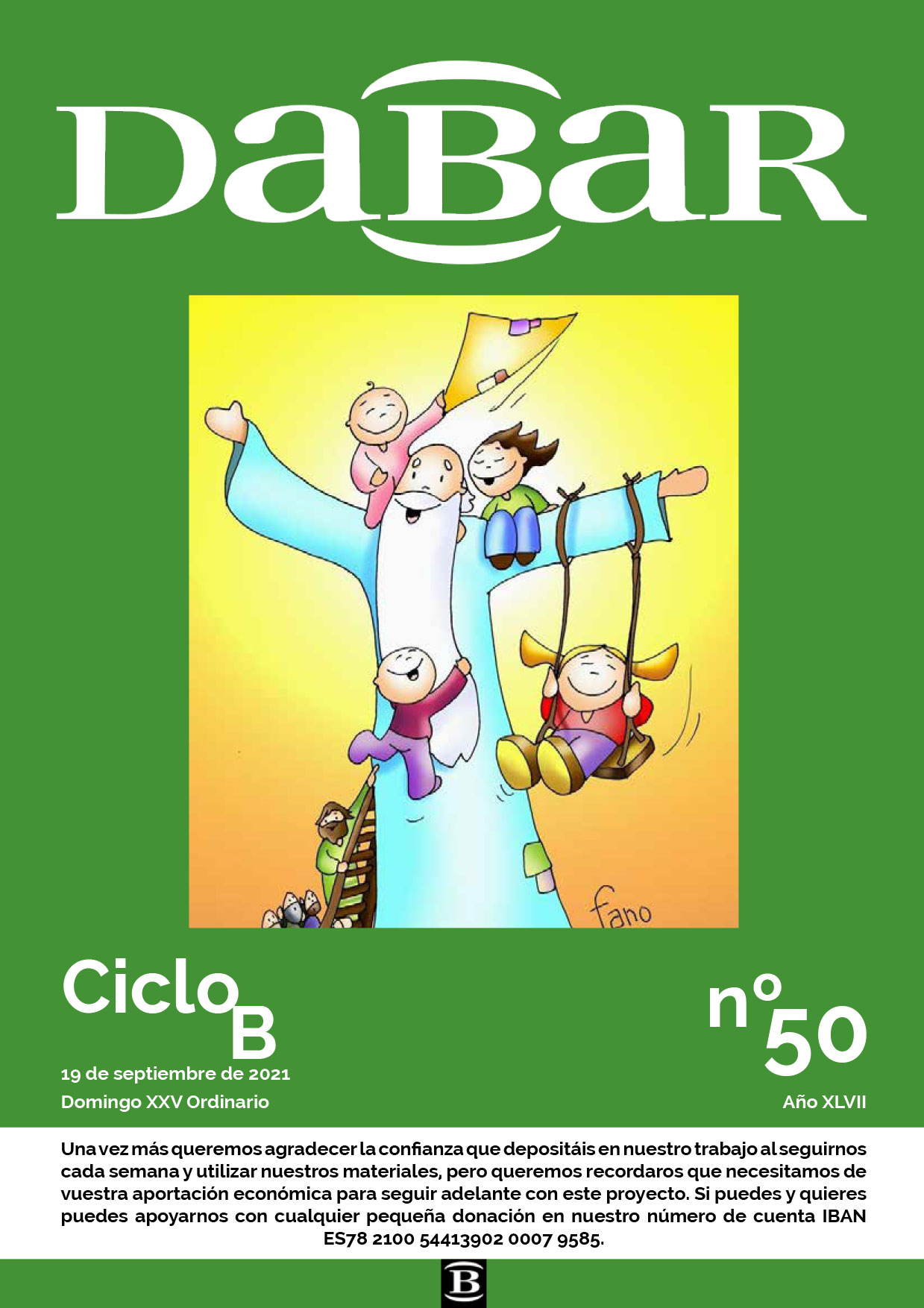 Dabar Revista numero 50 ciclo B