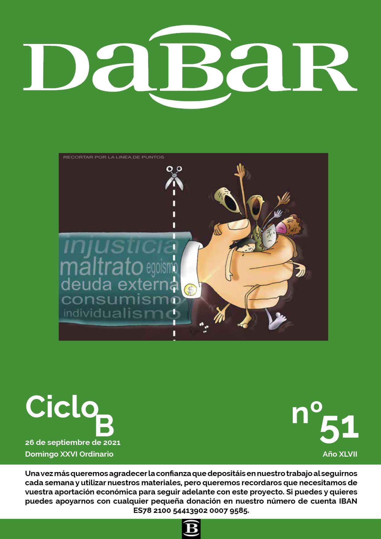 Dabar Revista numero 51 ciclo B