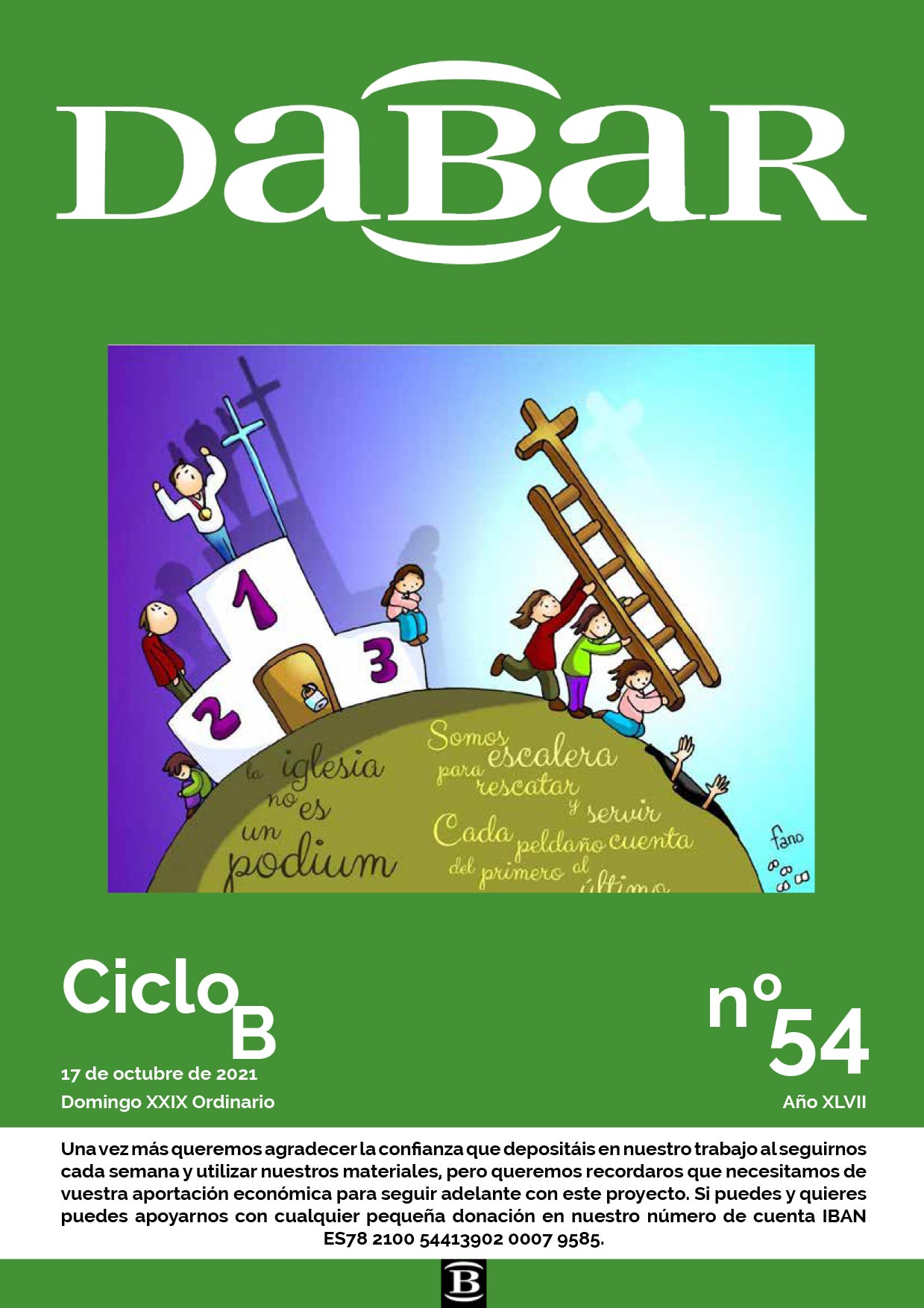 Dabar Revista numero 54 ciclo B