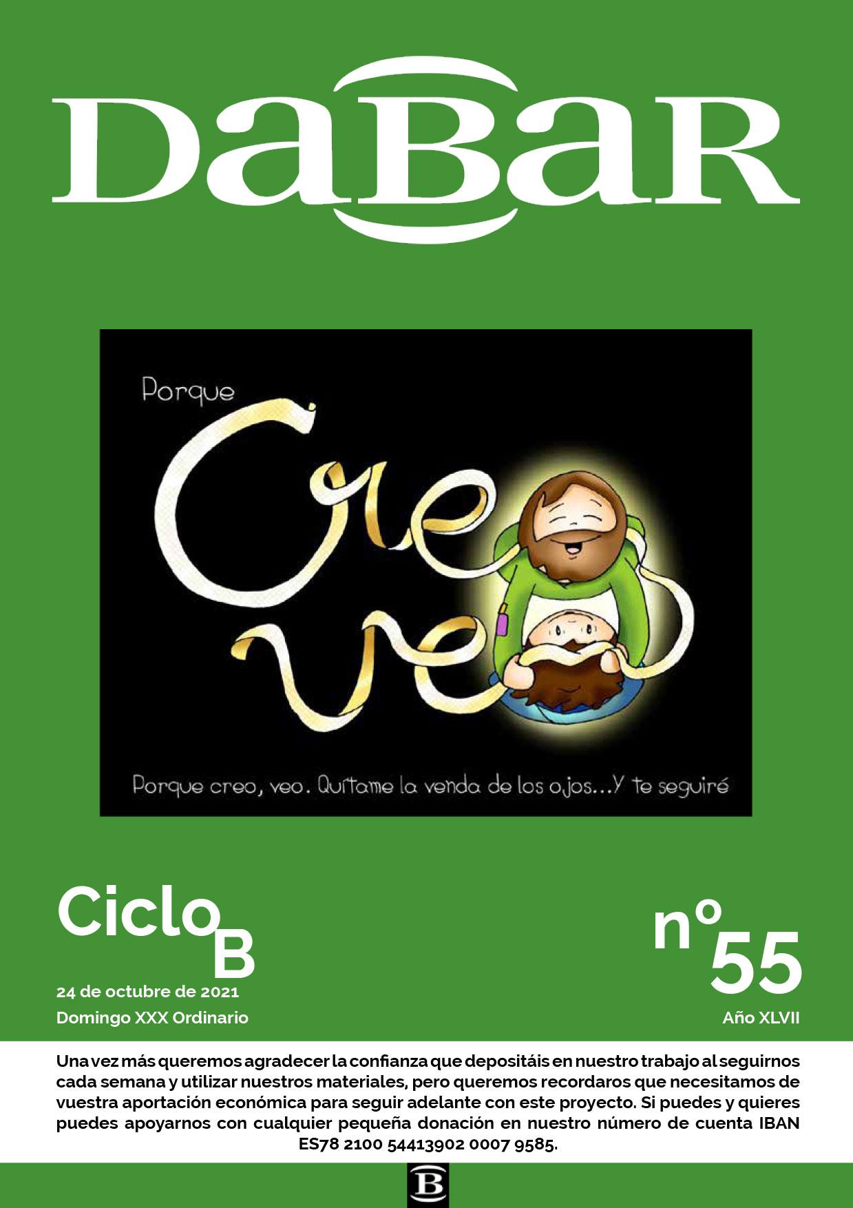 Dabar Revista numero 55 ciclo B